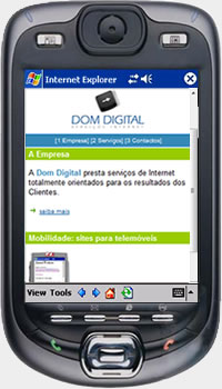 Dom Digital com Mobile Website